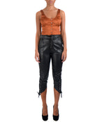 PORTIA CROP TOP -FRONT VIEW - THE BOX BOUTIQUE