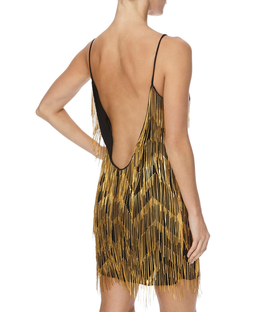 CAITLIN GOLD COLLECTION - BACK VIEW - THE BOX BOUTIQUE
