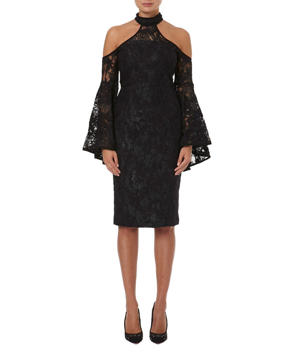 POPPY LACE DRESS  - FRONT VIEW - THE BOX BOUTIQUE