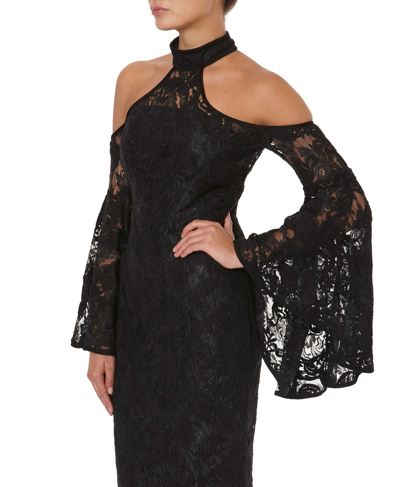 POPPY LACE DRESS  -SIDE VIEW - THE BOX BOUTIQUE