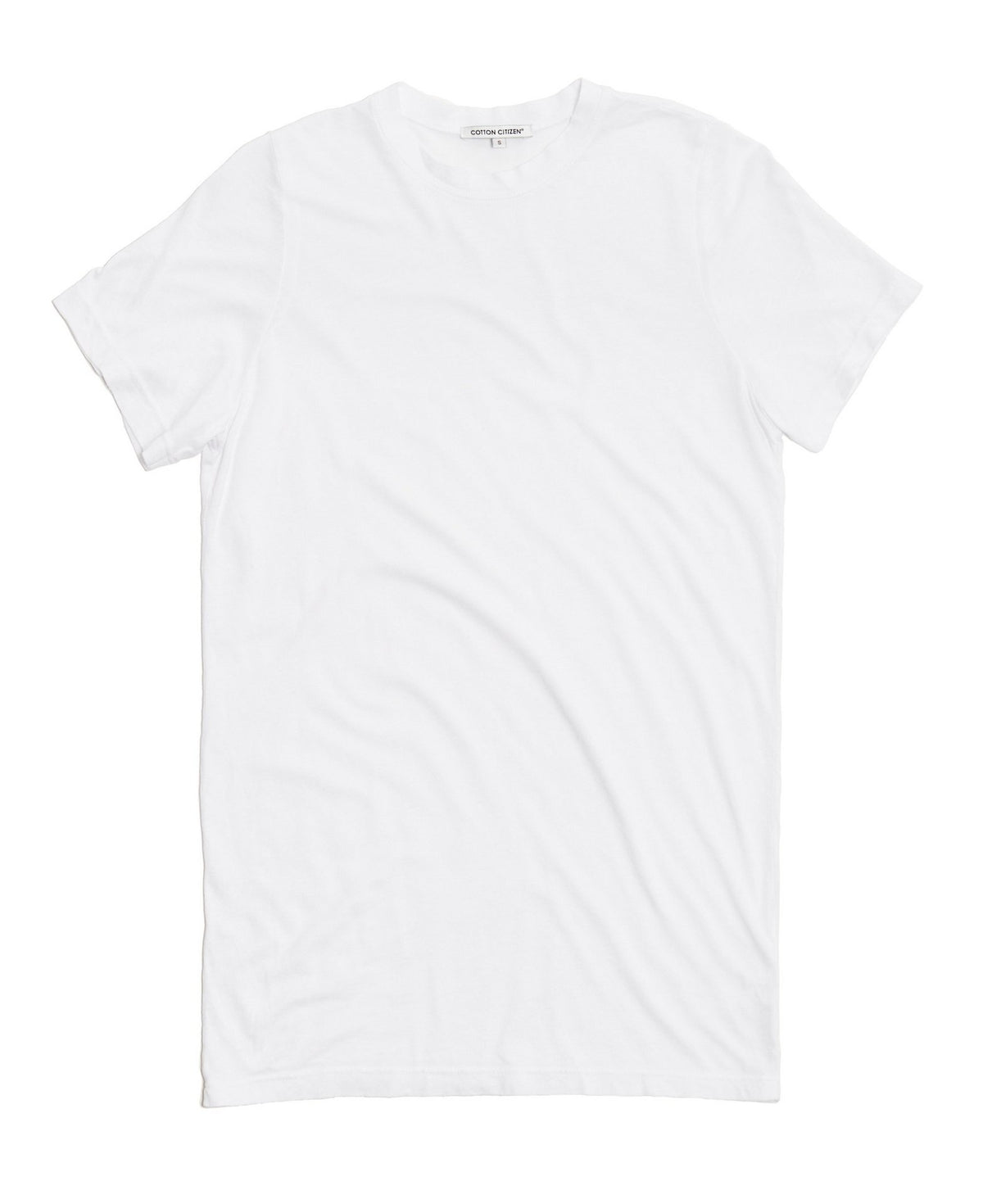 Women's Classic Crew Tee White -  THE BOX BOUTIQUE