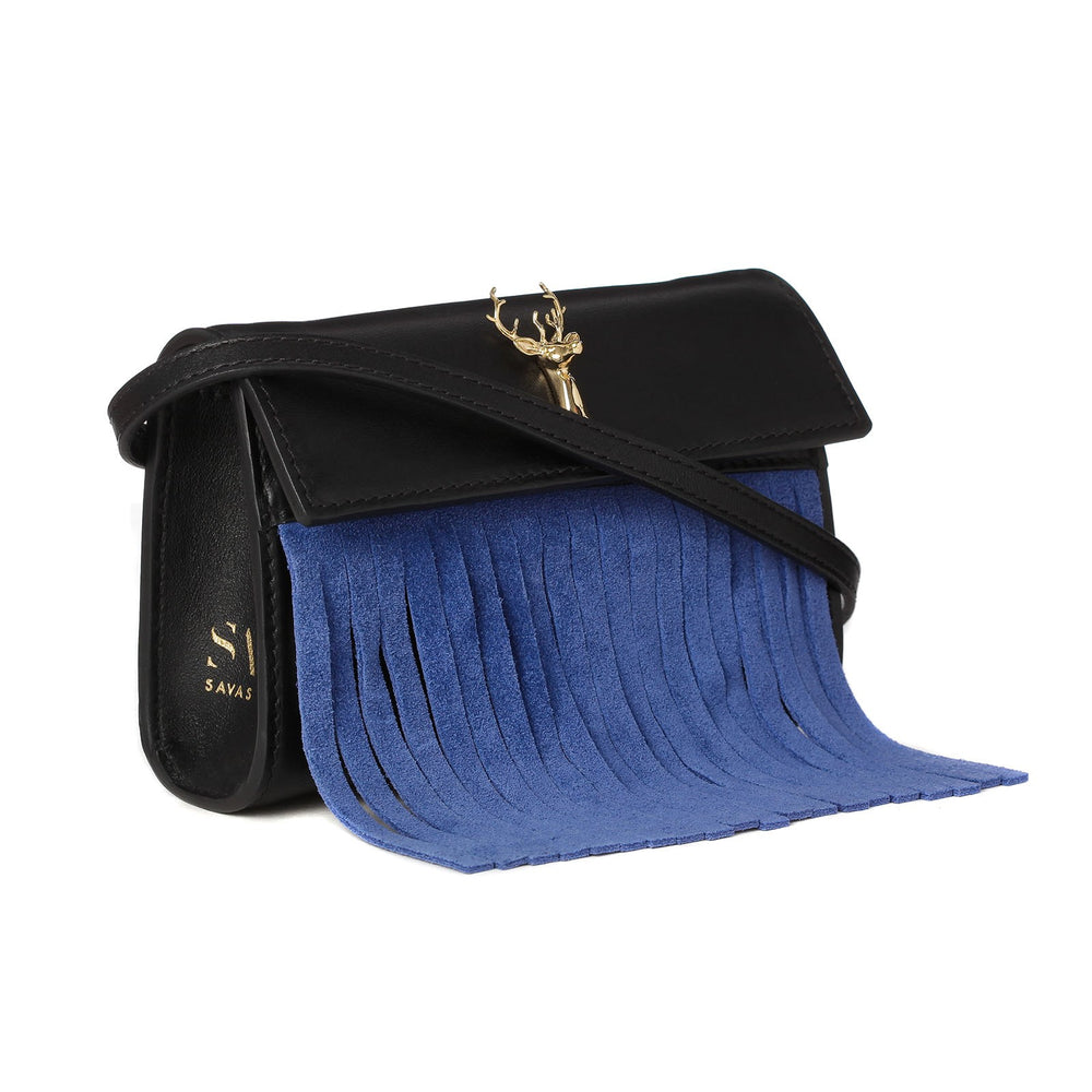 FRINGED BUM BAG-SIDE VIEW-THE BOX BOUTIQUE