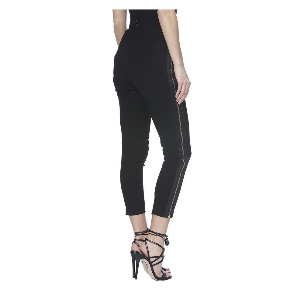 ALTHEA PANTS IN BLACK - BACK VIEW - THE BOX BOUTIQUE