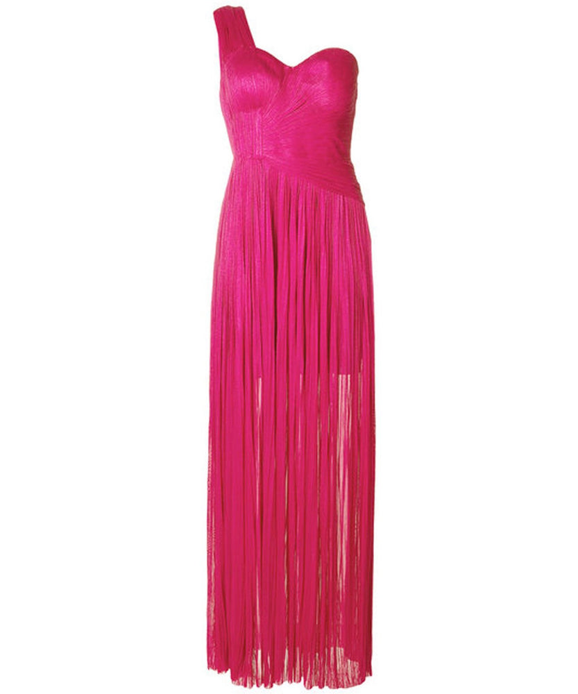 Melanie Dress Fuchsia- THE BOX BOUTIQUE