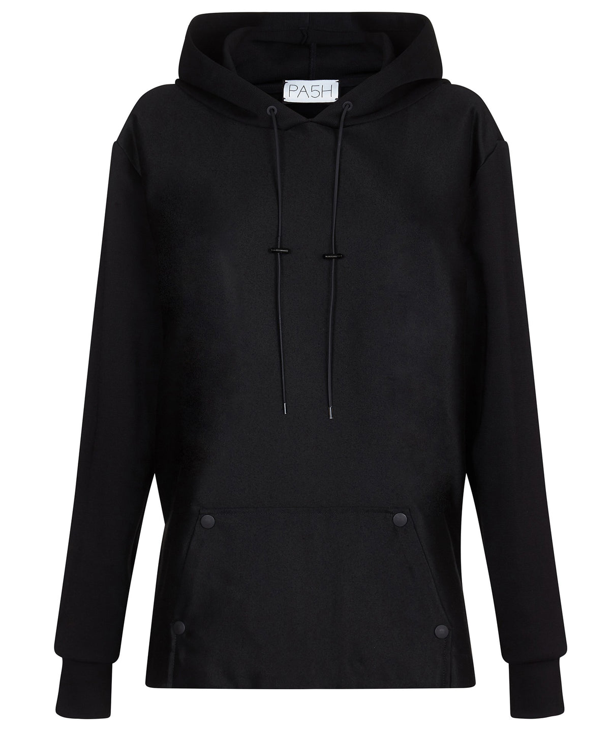 LUXE HOODIE-FRONT VIEW-THE BOX BOUTIQUE