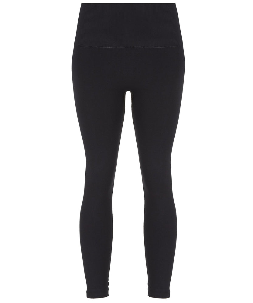 NOIR LEGGINGS-FRONT VIEW-THE BOX BOUTIQUE