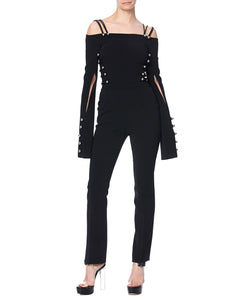 CADY JUMPSUIT - FONT VIEW - THE BOX BOUTIQUE