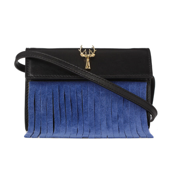FRINGED BUM BAG-FRONT VIEW-THE BOX BOUTIQUE