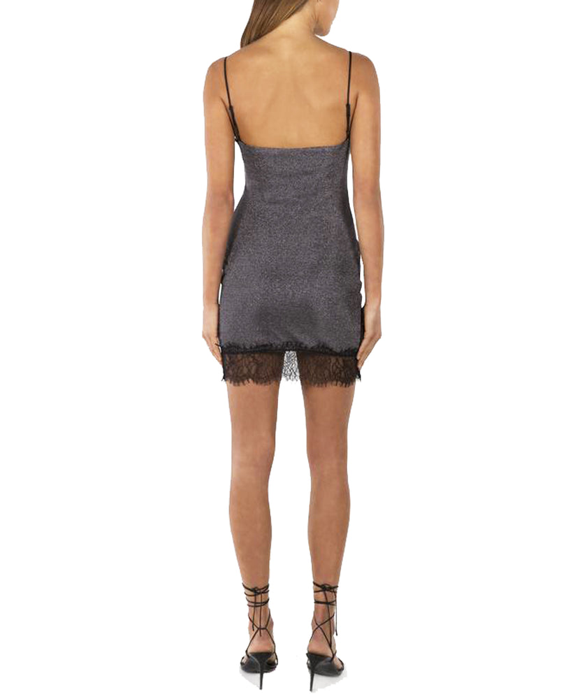 Misha Elloise Dress in Gunmetal Grey