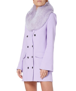 Charlotte Simone Princess Women Lilac Collar