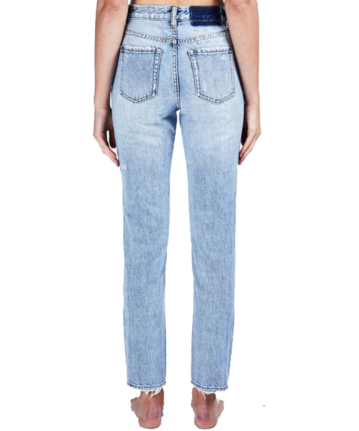 Ksubi Slim Pin Karma Denim baby blue