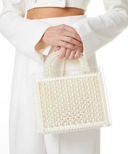 St. Barths Purse Pearls