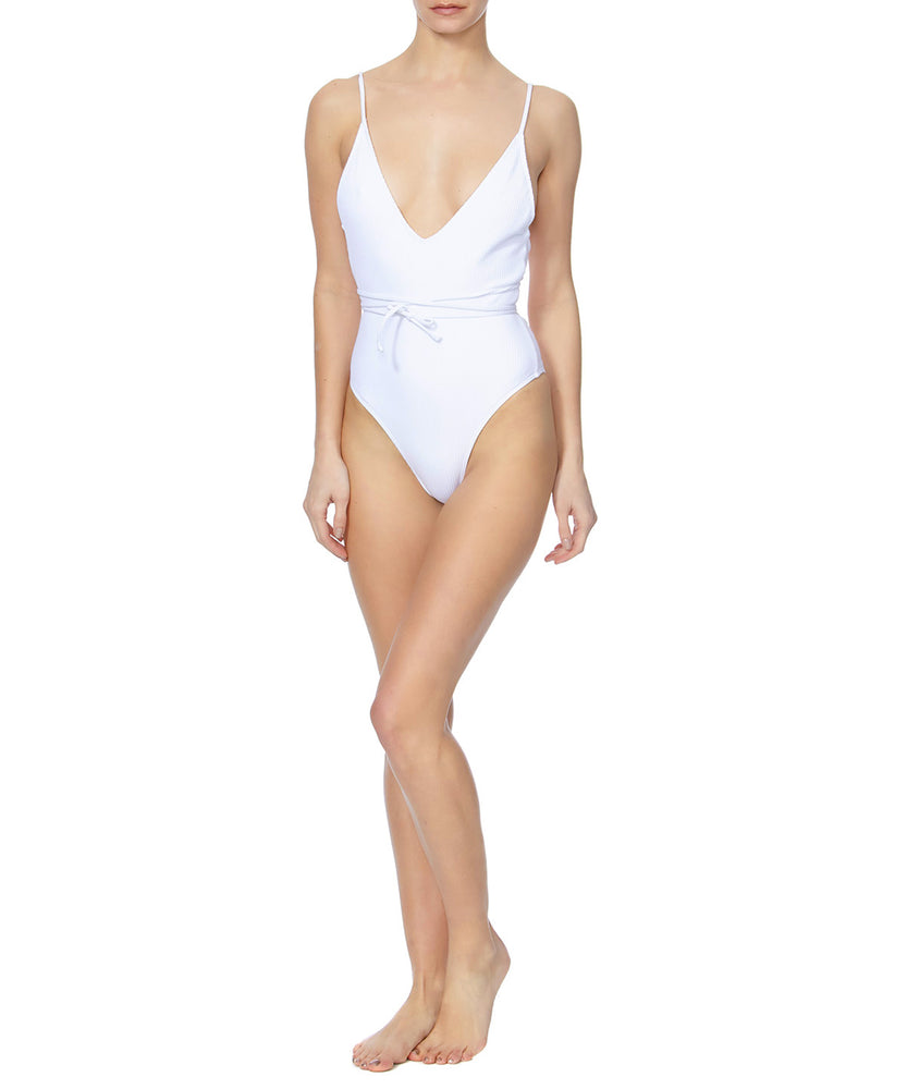 Minimale Animale Daiquiri Women White Swimsuit