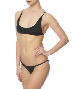 Minimale Animale Whiskey Women Black Swimwear