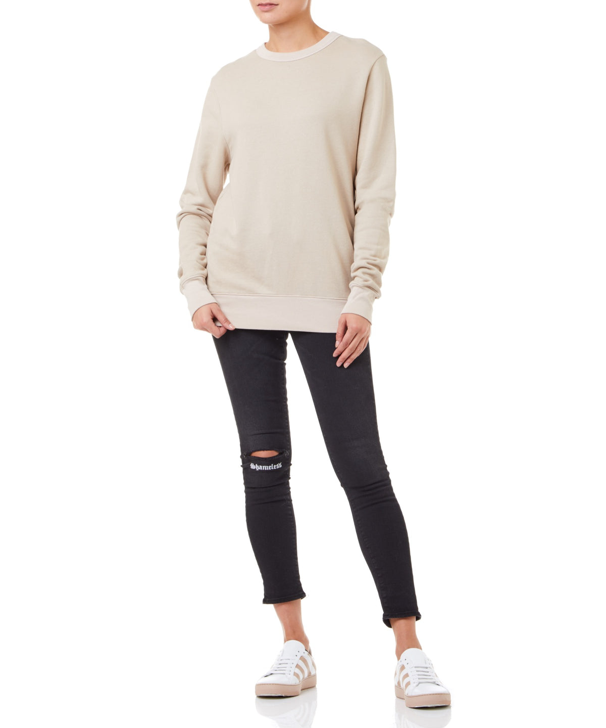 Cotton Citizen Jackson Women Tan Sweater