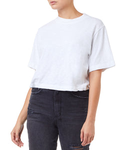 Cotton Citizen Tokyo Crop Women White T-shirt