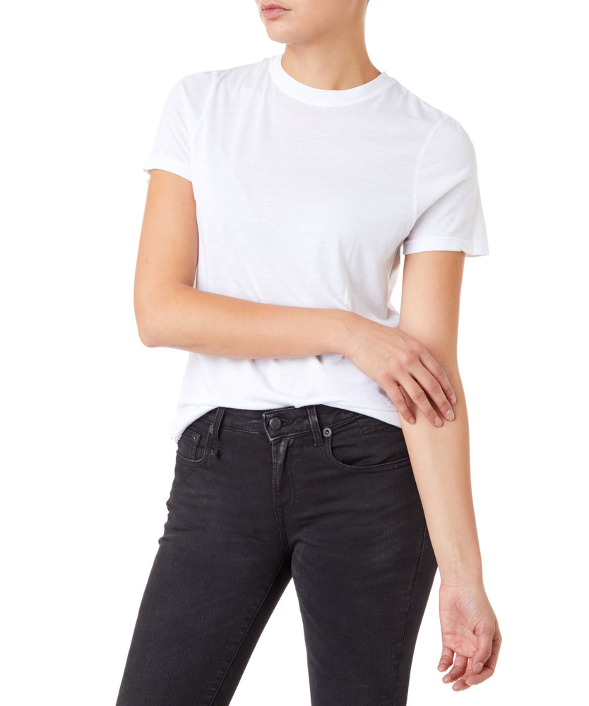 Cotton Citizen Classic Crew Tee Women White T-shirt