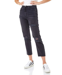 Ksubi Chlo Wasted Caster Women Black Jeans