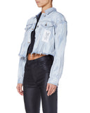 Ksubi Daggerz Women Blue Jacket