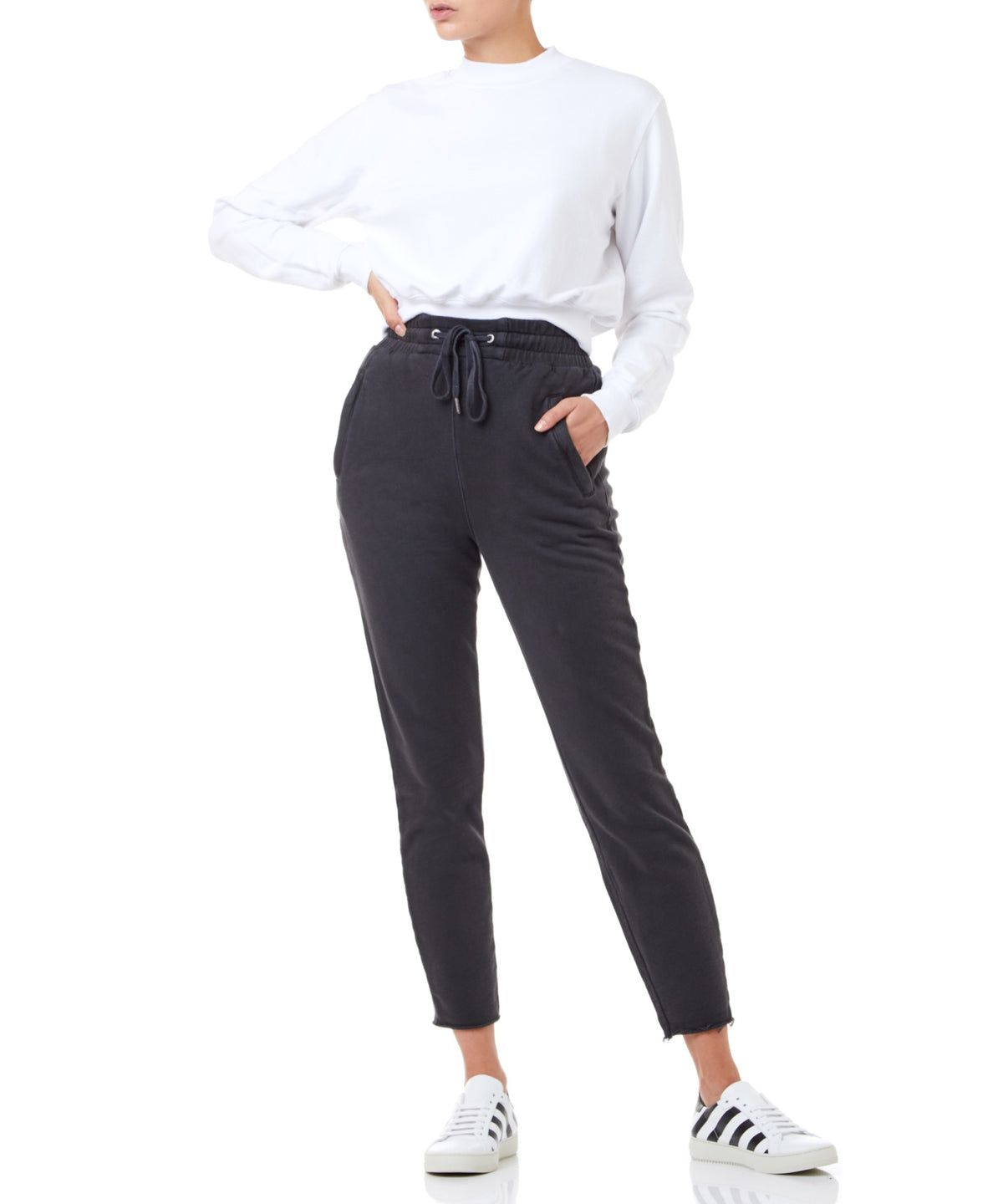 Ksubi Hi Def Trax Women Black Sweatpants