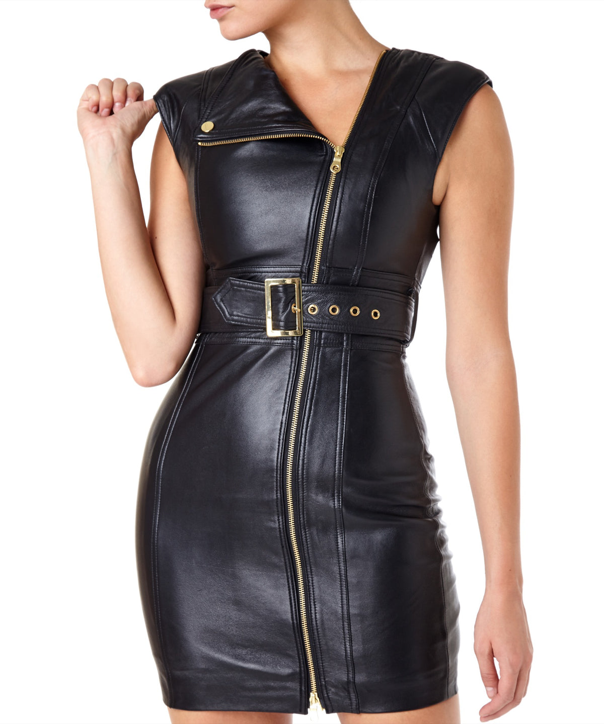 Misha Loren Women Black Dress