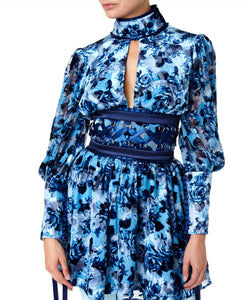 Misha Luella Women Blue Dress