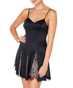 MILENA SILK MINI DRESS