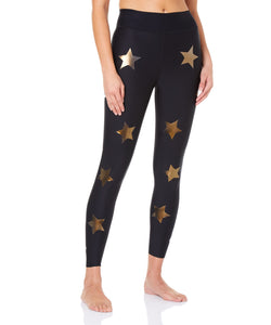 Ultra High Lux Knockout Leggings Gold