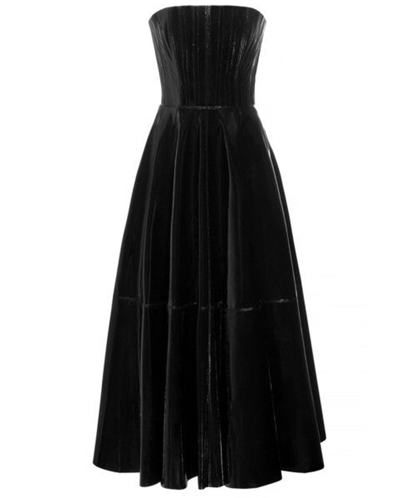 TATE PATENT LEATHER DRESS