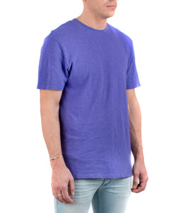 The Presley Tee Purple-FRONT SIDE VIEW-THE BOX BOUTIQUE