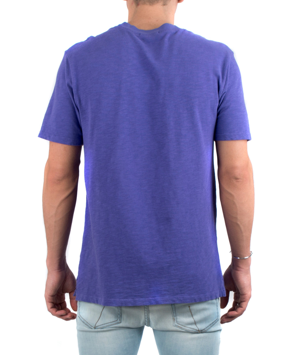 The Presley Tee Purple-BACK VIEW-THE BOX BOUTIQUE