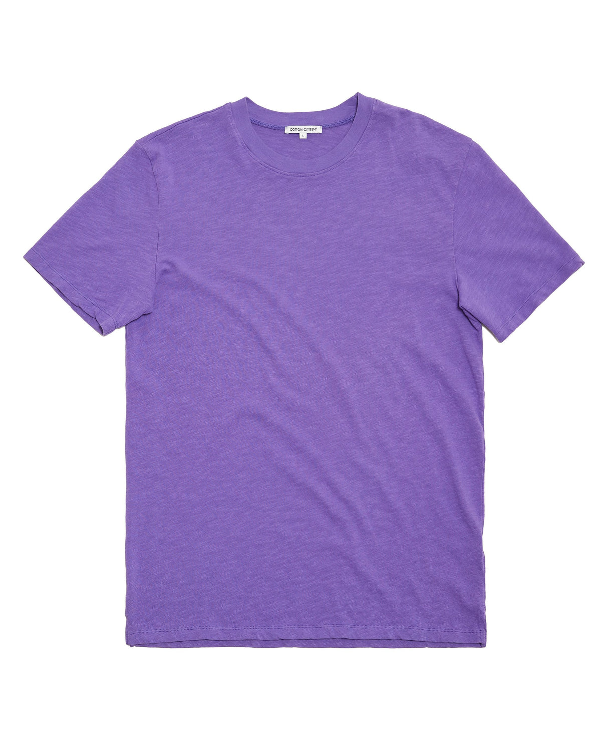 The Presley Tee Purple-FRONT VIEW-THE BOX BOUTIQUE
