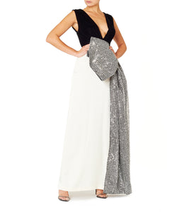 Daniele Carlotta Women Tricolour Maxi Dress
