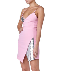 David Koma Sequin Women Pink Dress