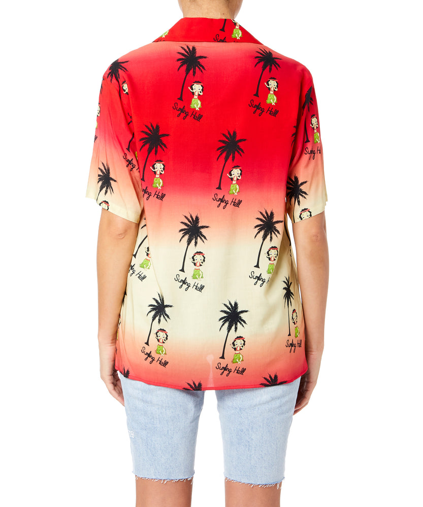 Garcons Infideles Betty Women Red And Yellow Shirt