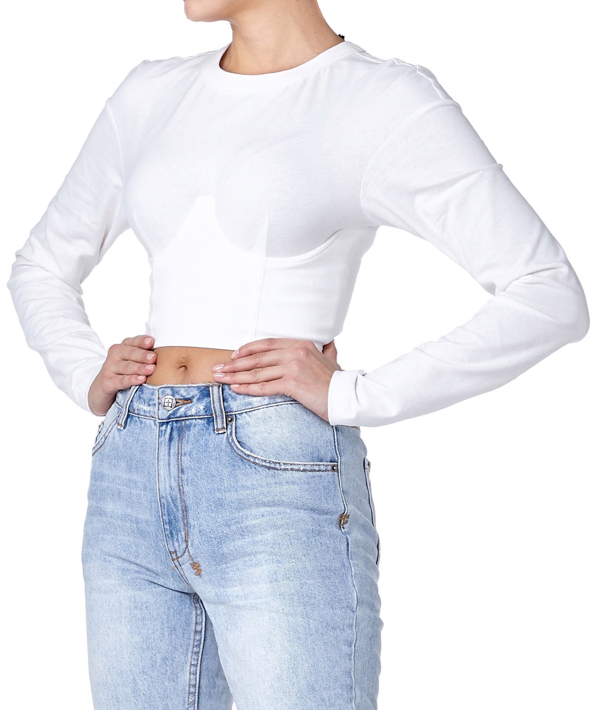 Ksubi Disect Women White Top