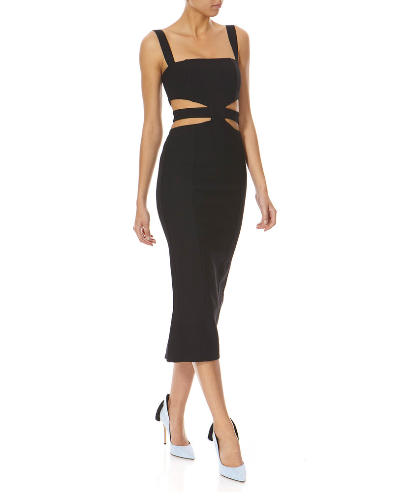 Misha Marquesa Women Black Dress