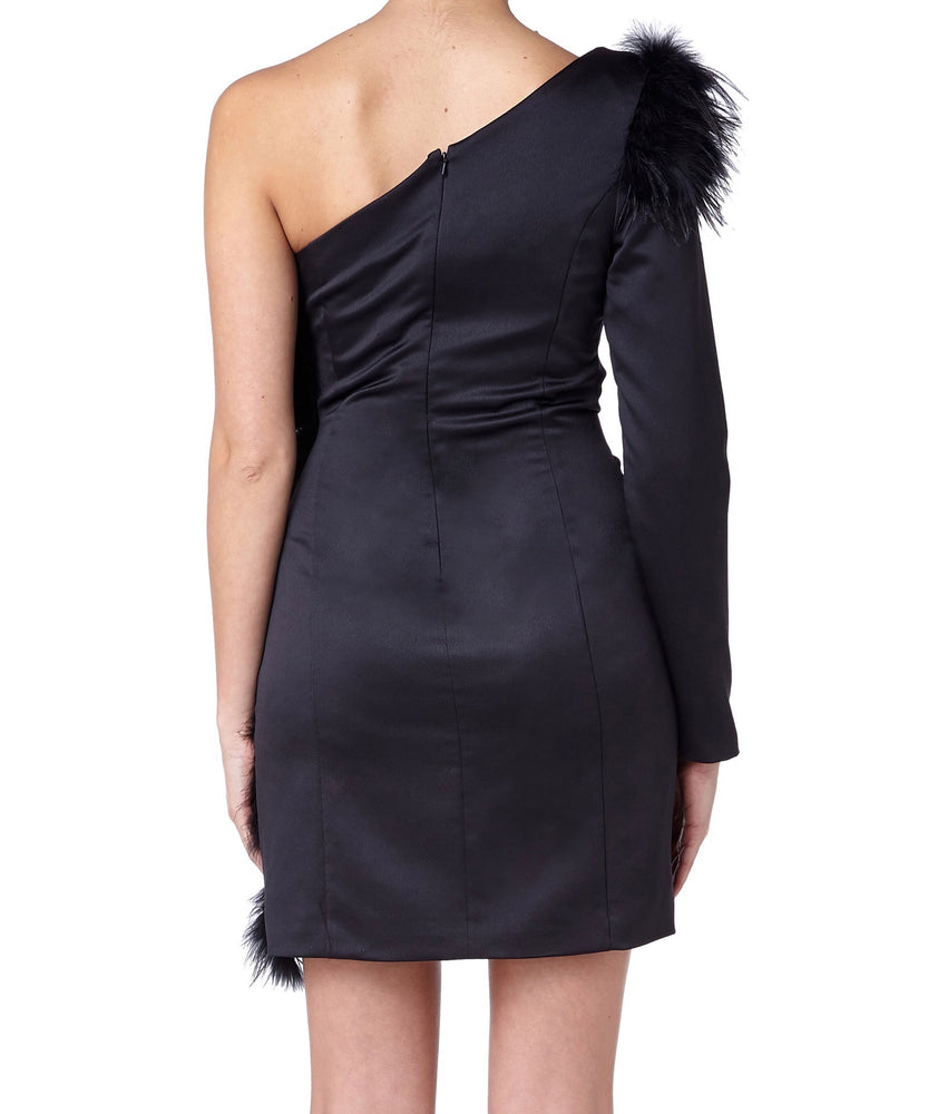 Misha Maddison Women Black Dress