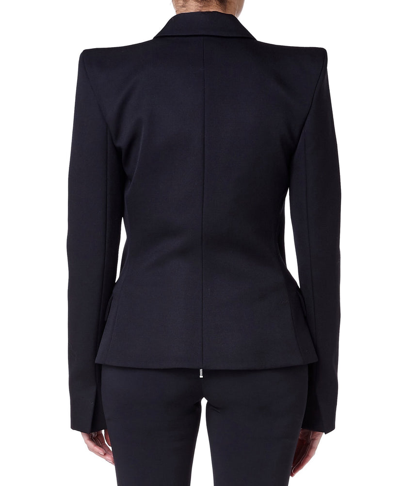 BLACK TAILORED BLAZER