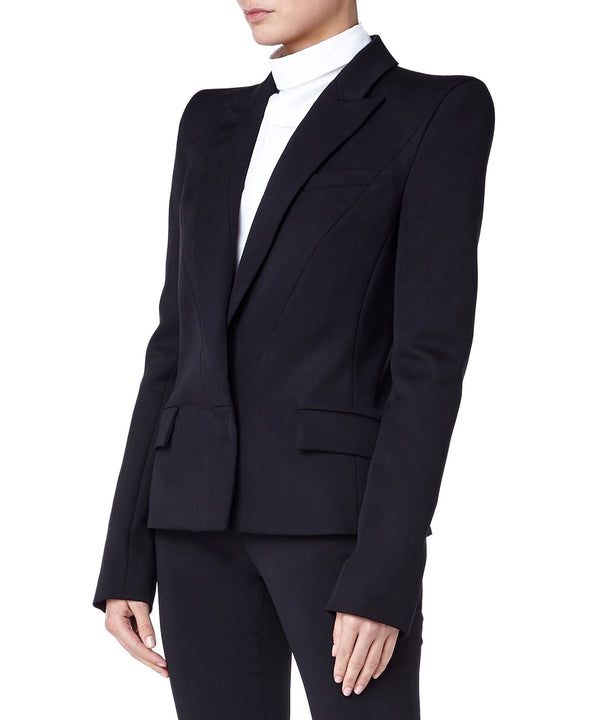 Mugler Tailored Women Black Blazer