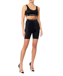 Ttswtrs Bike Women Black Shorts