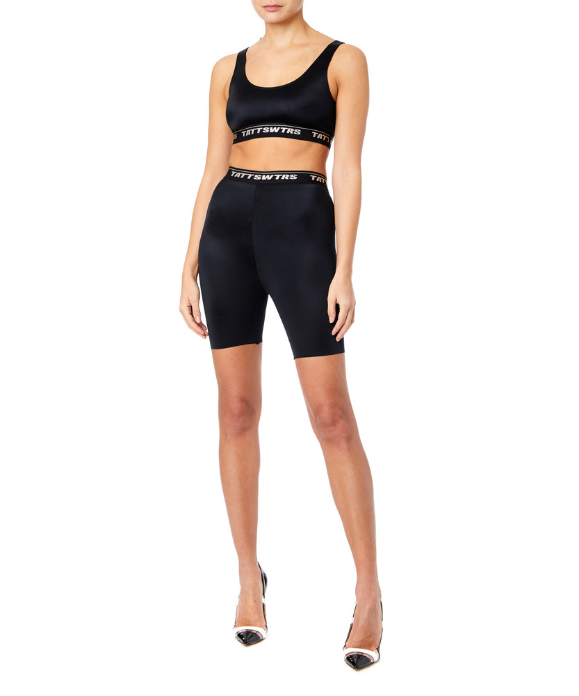 TTSWTRS Sports Bra Women Black Top