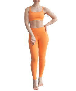 Year of Ours Rib Jogger 7/8 Legging Sherbet
