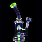 Mini Illuminati Shroom Water Pipe with Flower Bowl