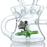 Artemis Propellor Perc Swiss Recycler Water Pipe with Dome and Nail