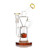 Inverted Puck Recycler with Dome and Nail