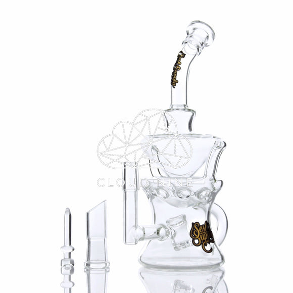 Orion Swiss Recycler Water Pipe with Dome and Nail