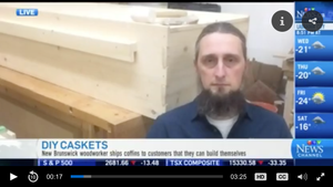 CTV NEWS: N.B. woodworker's do-it-yourself casket kit...