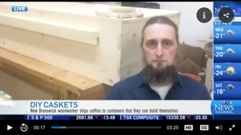 casket kit CTV