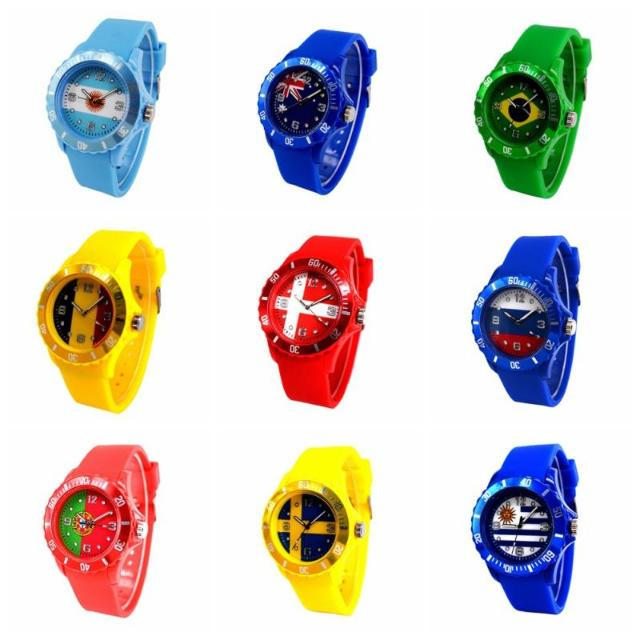 Flag Patterned Watches